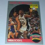 1990 NBA Hoops #270 David Robinson San Antonio Spurs Basketball Card